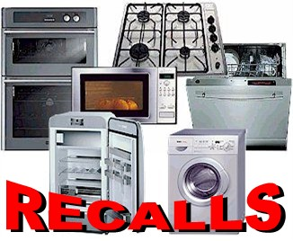 recalled appliances